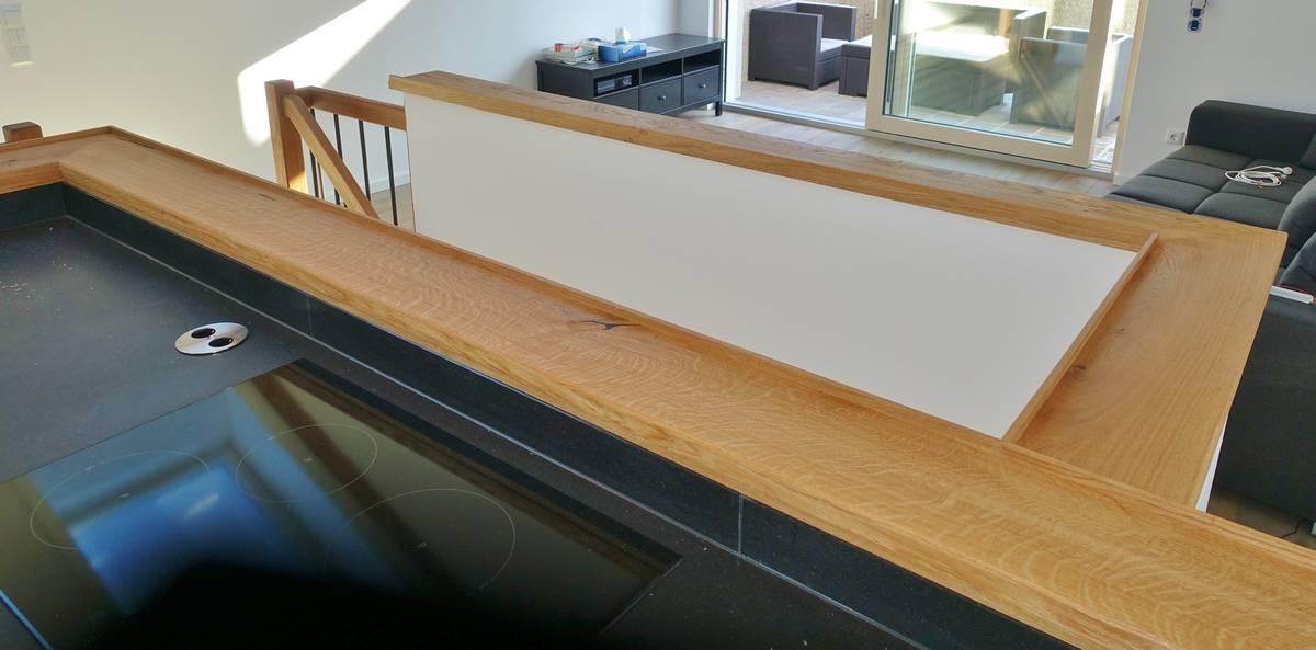 Treppenbrüstung treppenbrüstung u fensterbretter eiche